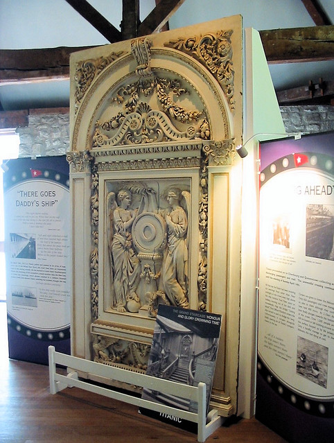 Rms Olympic Carving The Carved Panel Depicting Quot Honour