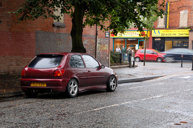 mk4 Ford Fiesta Belfast road | im not to sure where the ...