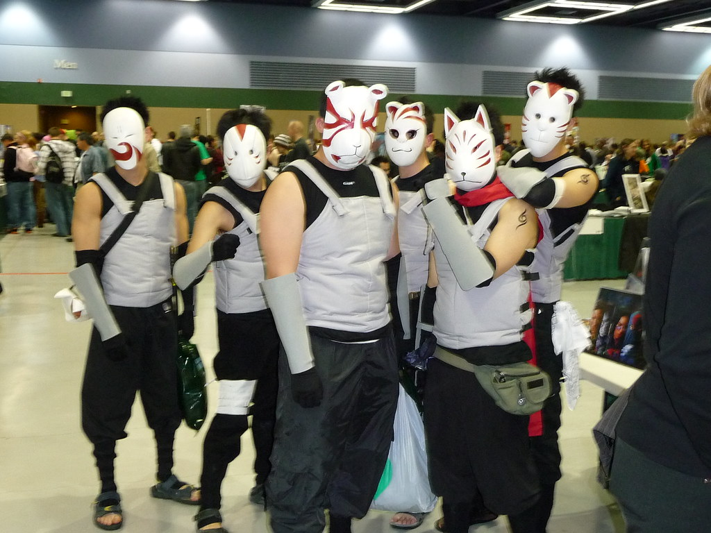 Naruto ANBU Black Ops | Emerald City ComiCon 2009 * See me ...
