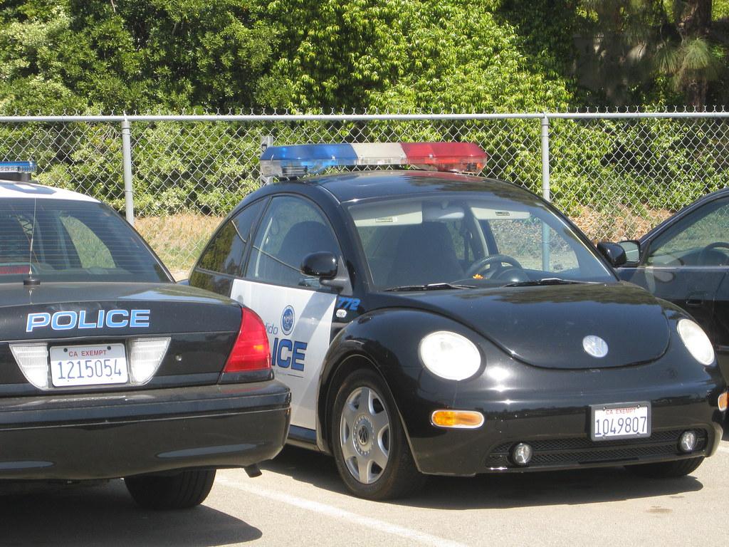 Punch Buggy Volkswagen >> Police VW New-Beetle   Escondido, California. Almost hidden …   Flickr
