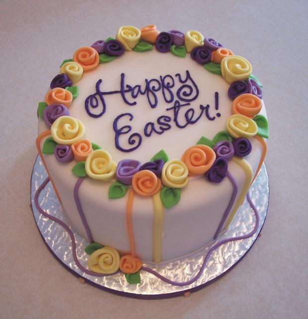 Easter Cake Decor : Easter cake Rebecca Sutterby Flickr