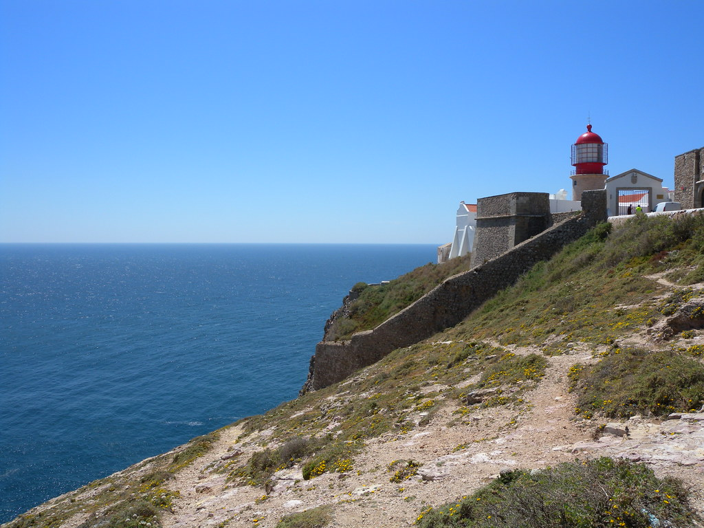 Cape St Vincent The Most South Western Point Of Europe