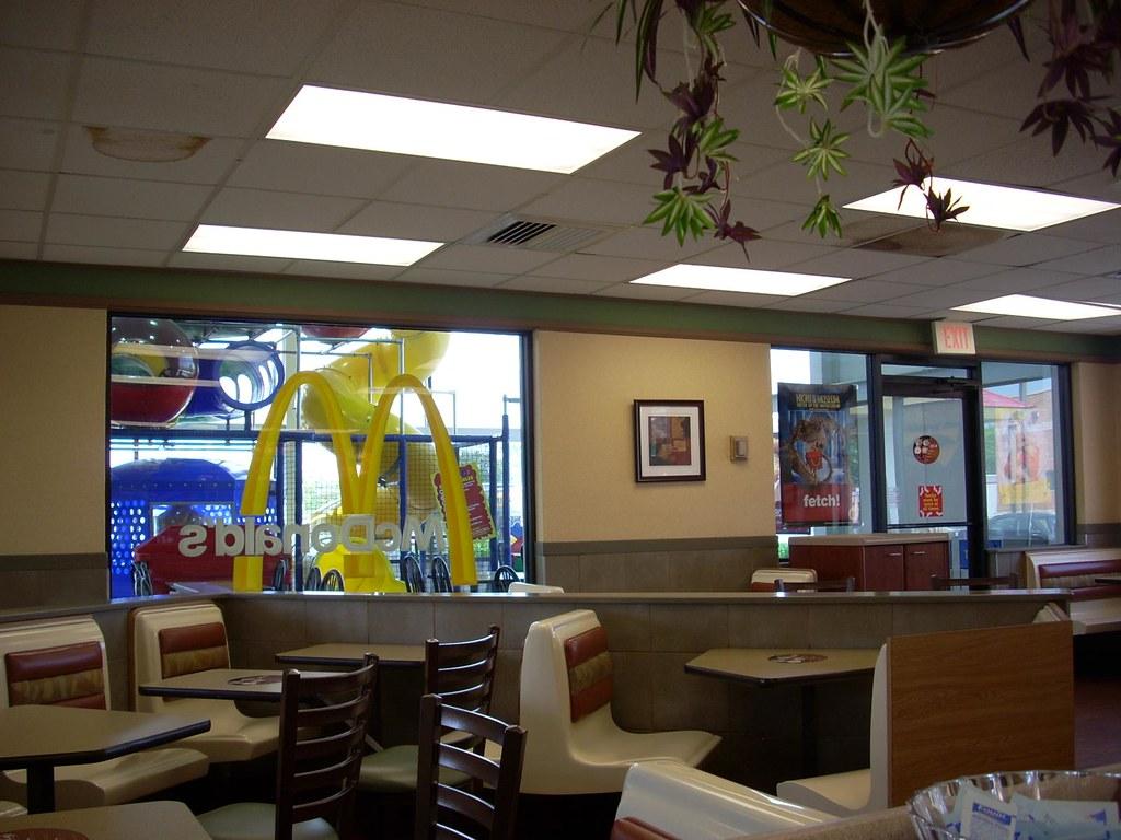 Mcdonald 39 S Interior The Interior Of A Mcdonald 39 S