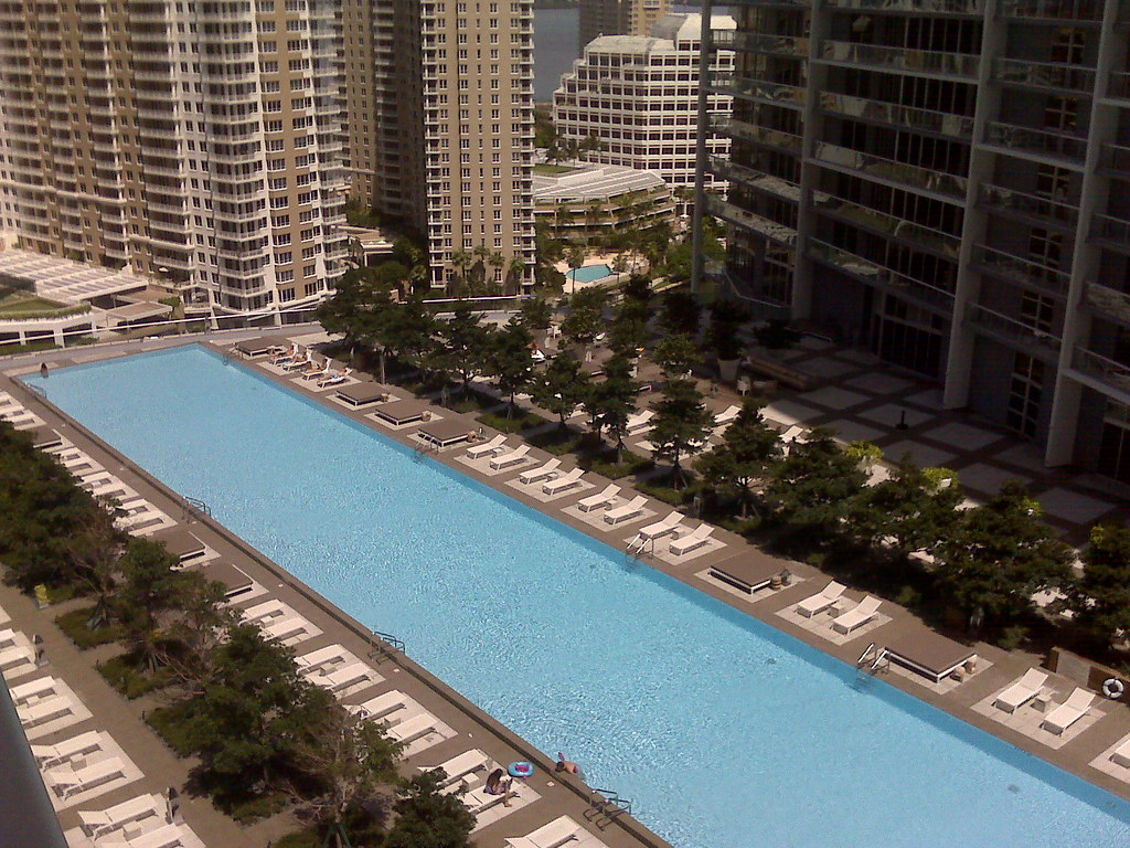 Icon Brickell Swimming Pool The Largest Residential Swimmi Flickr