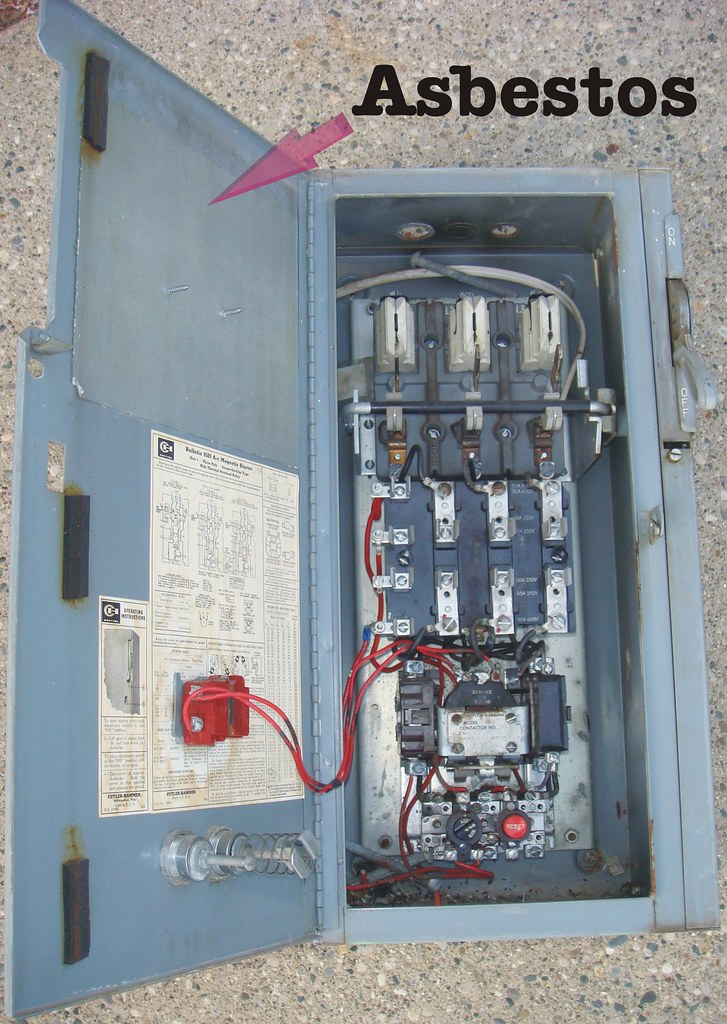 Cutler Hammer Electrical Panel With Asbestos Paper Flickr