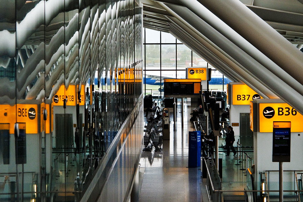Heathrow Terminal 5 London