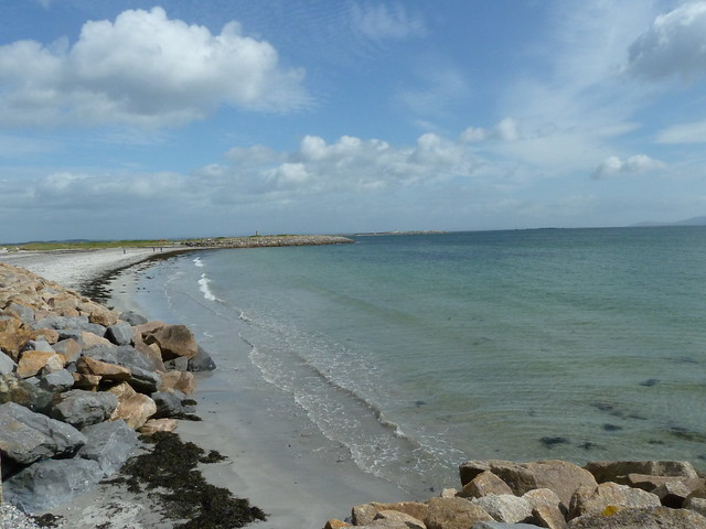 Beach in Salthill Galway