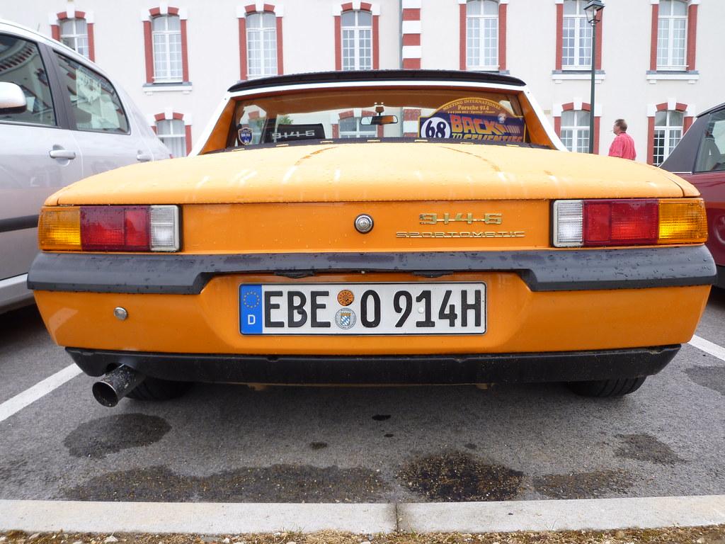 Porsche 914 Sportomatic Marc Van Gestel Flickr