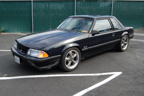 Ford Mustang 5 0 Lx Foxbody Coupe With Bullitt Wheels