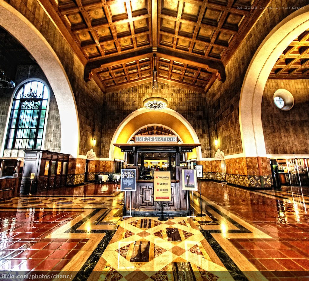 Union Station Los Angeles 6 Union Station In Los