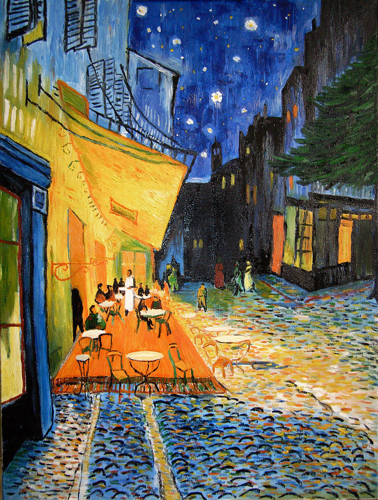 My Mimicry Of Van Gogh S Cafe Terrace At Night Yumian