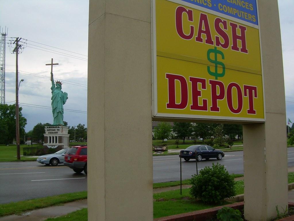 Cash Depot for Christ | need I say more??...... Roadside Ame… | Flickr