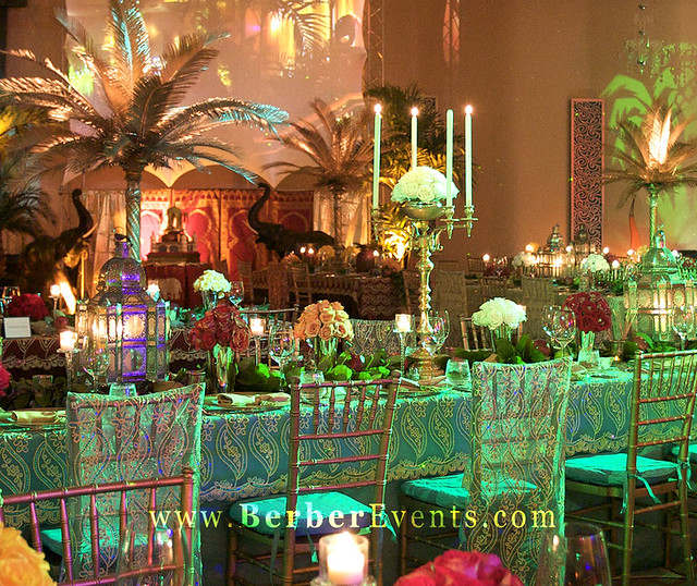 Moroccan Theme Birthday Party At The Fontainebleau Miami B
