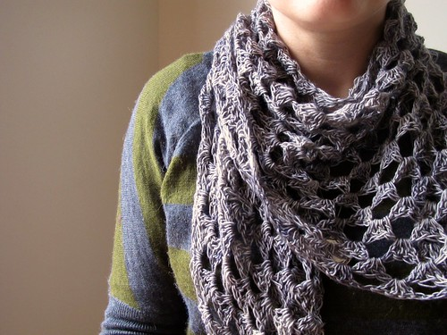 Half Granny Shawl | by One Flew Over...
