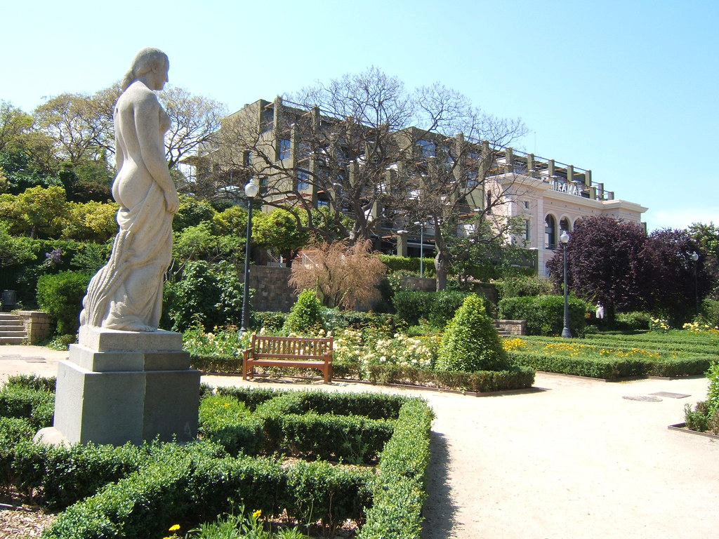 Jardins de miramar la fertilitat de josep clar 1929 for Hotel jardin barcelona