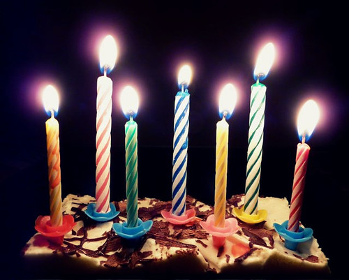 ... candles | Happy birthday to me! I turn seven this year… | Flickr