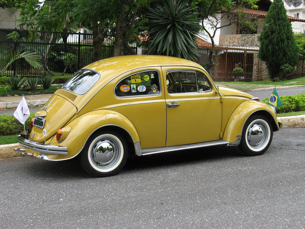 A Special Yellow Classic Champion Quot New Quot Old Beetle Brazil