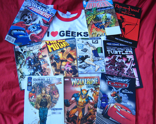 Free Comic Book Day Haul | by BenSpark