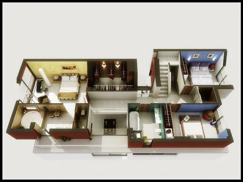 Infograf a planta 3d planta arquitect nica 3d novitas arquitectura urbanismo flickr - Progettare casa 3d gratis ...