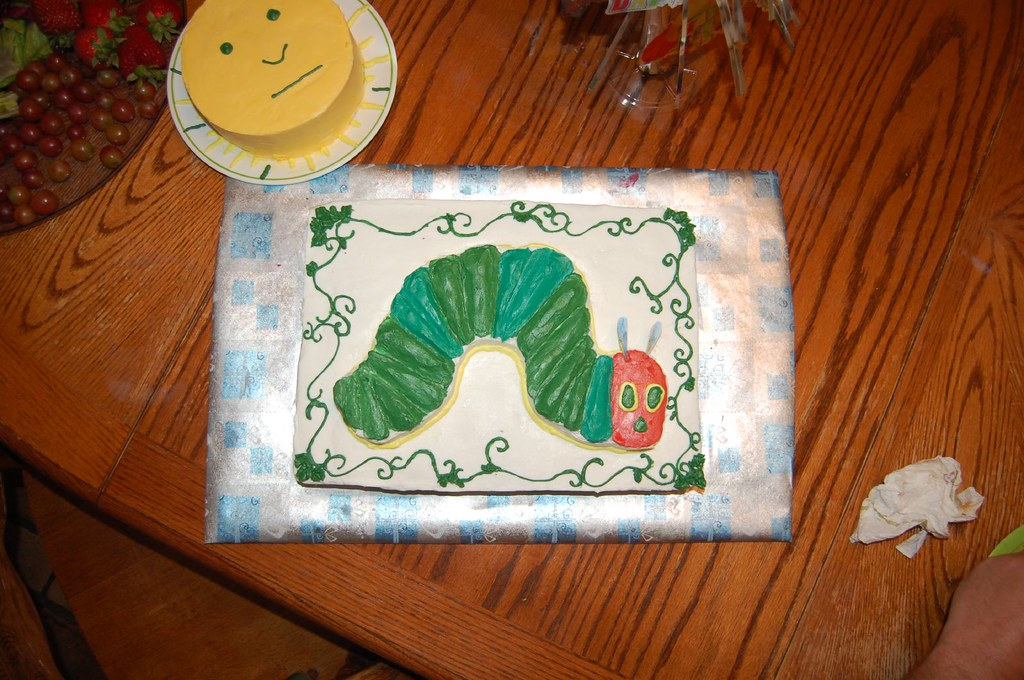 Hungry Caterpillar Cake Recipe