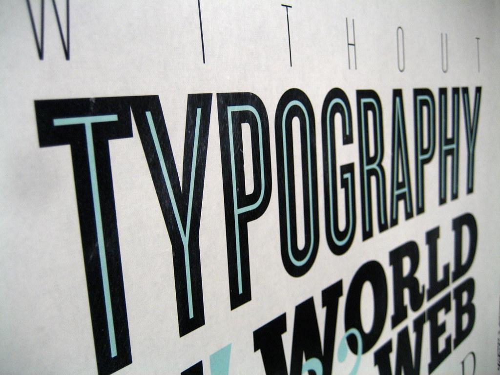 typography jeremy keith flickr. Black Bedroom Furniture Sets. Home Design Ideas