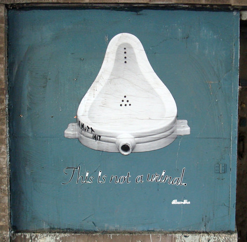 This Is Not a Urinal. | by guy_on_the_streets