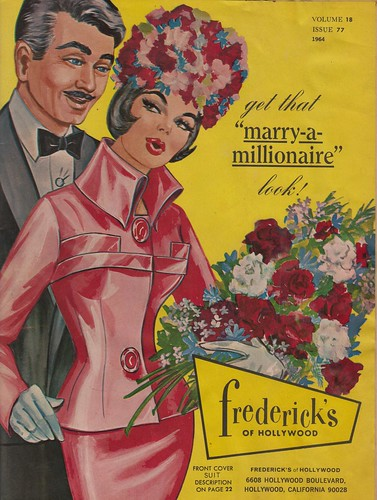 "Get That ""Marry-a-Millionaire"" Look - 1964 Frederick's of Hollywood Catalog 