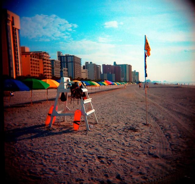 Carolina Beach Lifeguard Tryouts