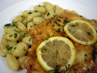 Chicken Francaise and Gnocchi | by swampkitty