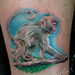 baby monkey tattoo by Mirek vel Stotker