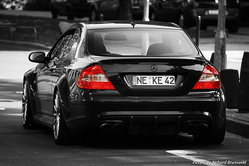 Mercedes CLK63 AMG Black Series. | Flickr - Photo Sharing!