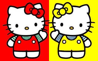 Hello Kitty & Mimmy  Hello Pixel  Flickr