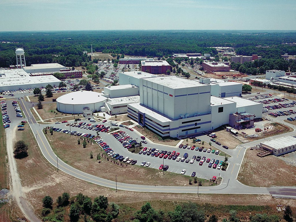 Aerial view of NASA's Goddard Space Flight Center | Aerial ...