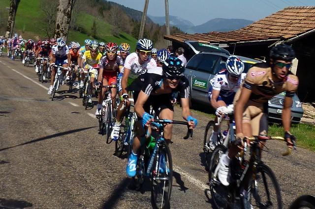 2010 Tour de Romandie Stage 1 | Top of last climb
