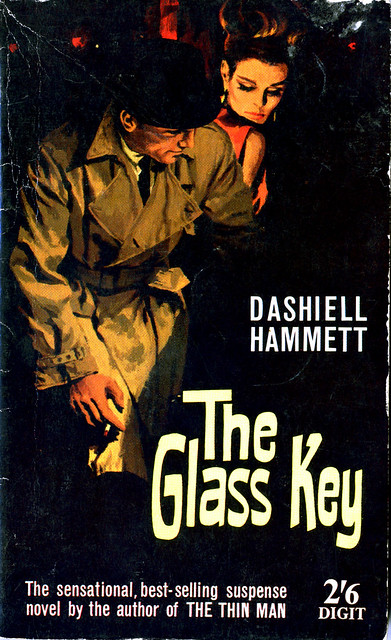 Pulp cover of The Glass Key