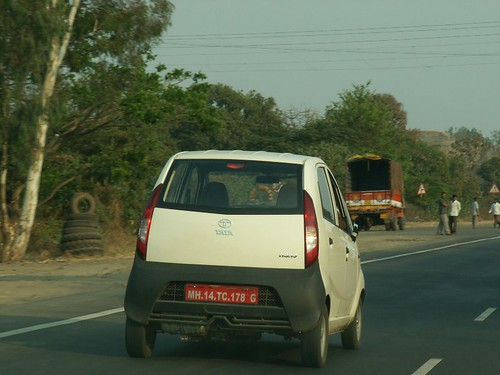 Tata Nano on Indian Highway | by Ravi Dixit