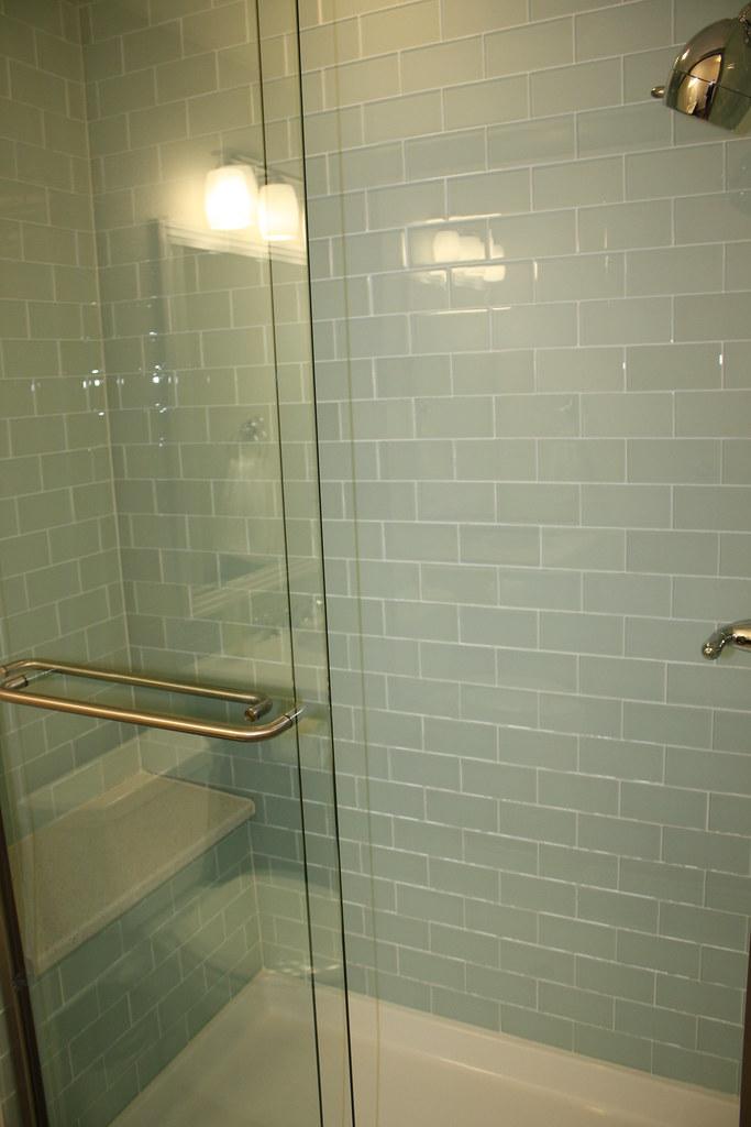 Glass Subway Tile Shower Kari Flickr