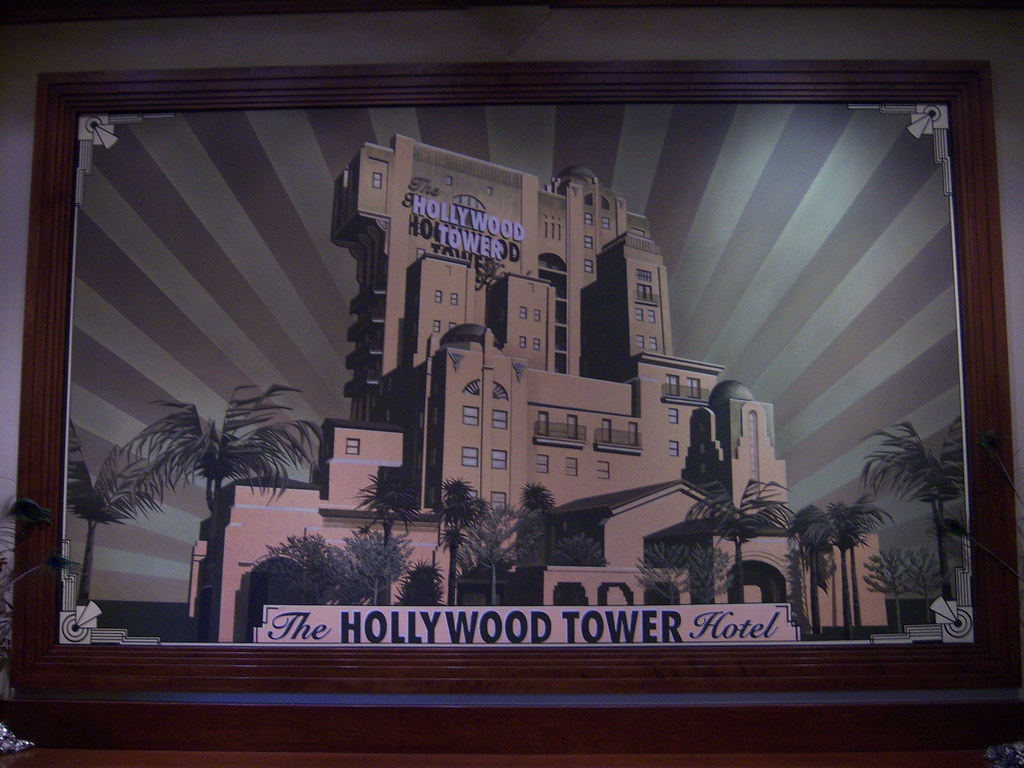 Hollywood Tower Hotel Rooms Disneylnd
