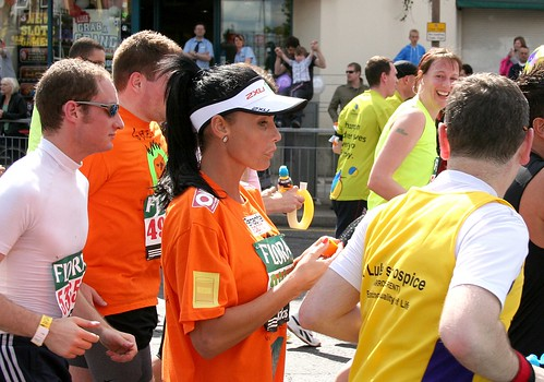 Katie Price - London Marathon 2009 | by Dave Levitt