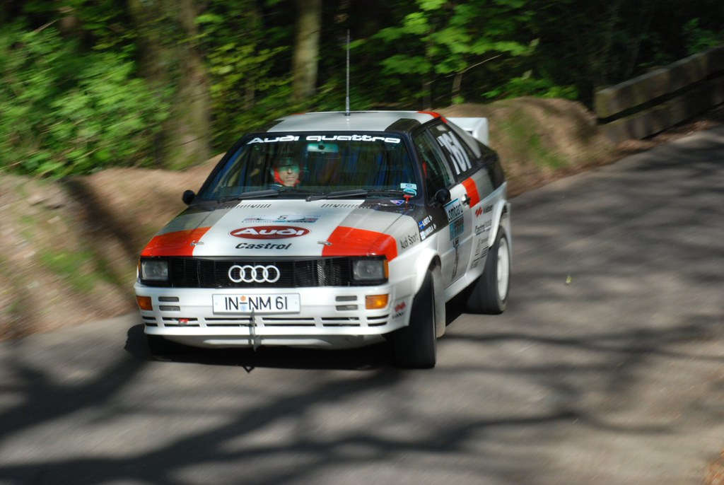 Audi Quattro Rally Car Group 4 Group 4 Audi Quattro