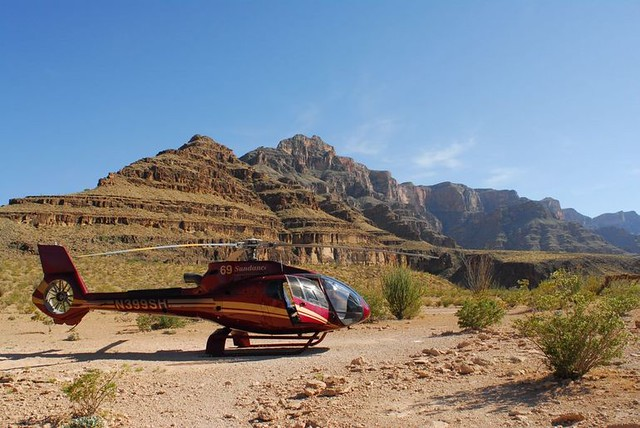 Grand Canyon Helicopter Tour From Vegas  The Landing Site   Flickr