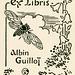 [Bookplate of Albin Guillot]