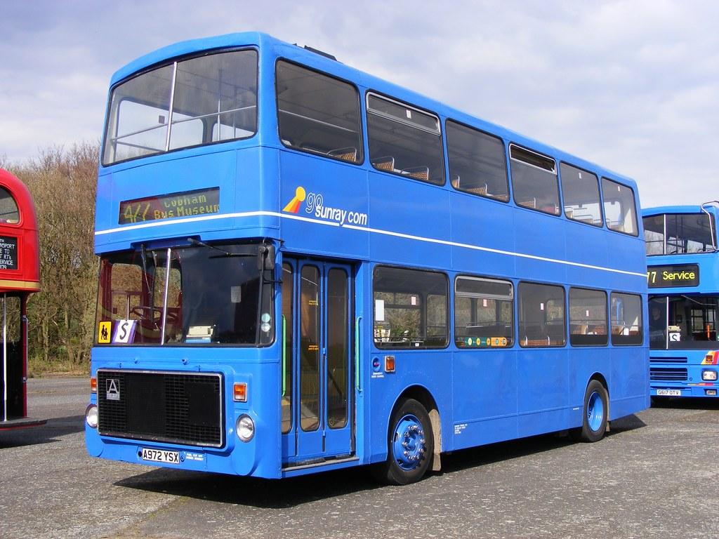 Sunray Travel: A972YSX Volvo B55-10/Alexander Ailsa Wisley… | Flickr