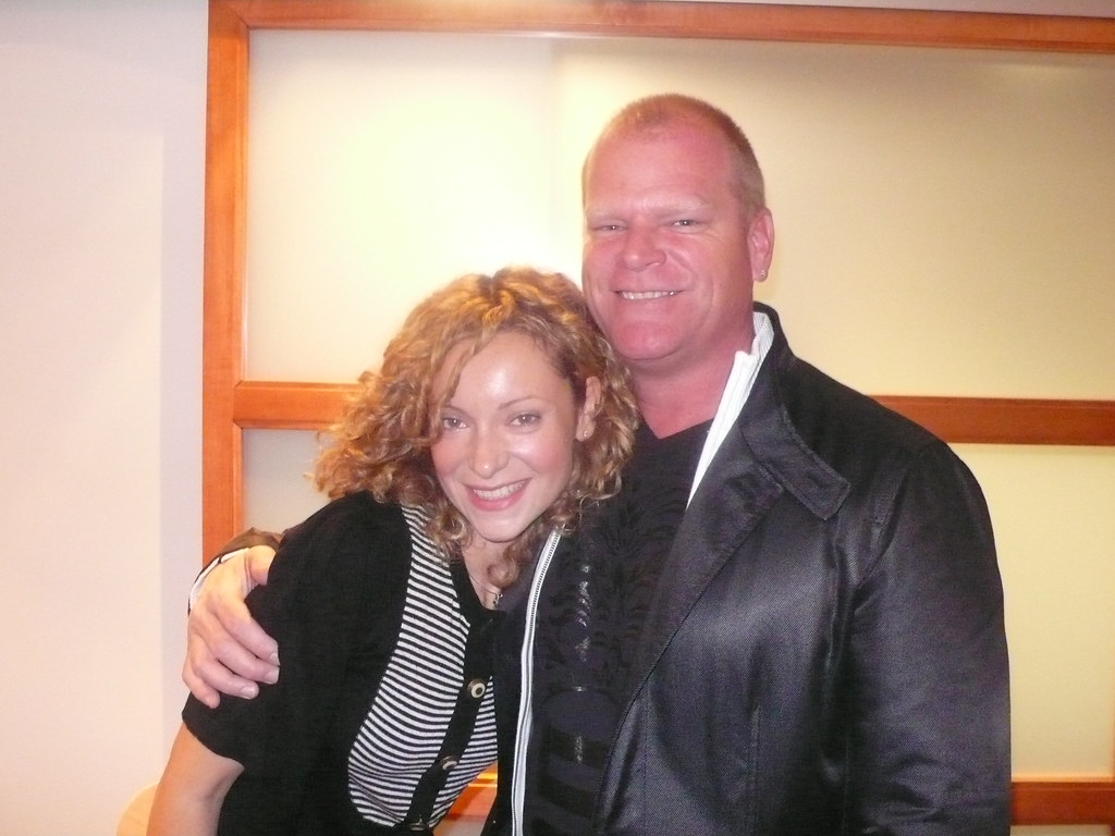 Hgtv Ca Elana Meets Mike Holmes Video Interview Coming So Flickr