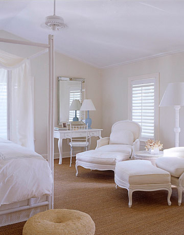 White bedroom french bergeres grass rug 39 seashell 39 by for Benjamin moore french white