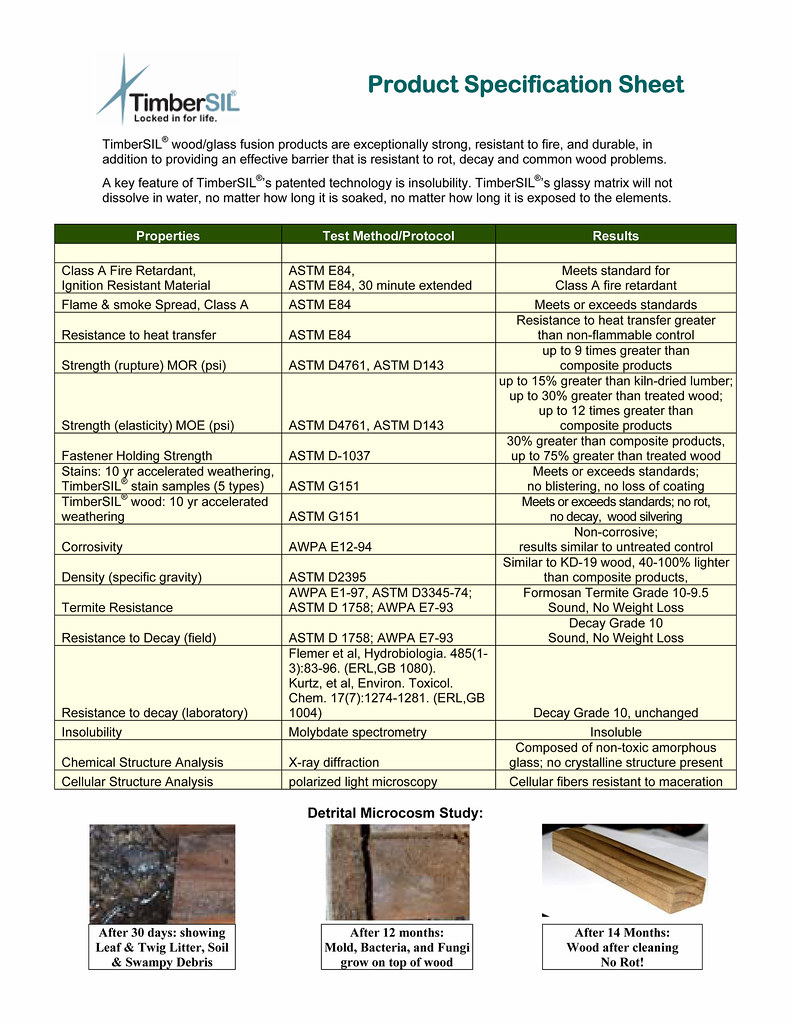 Good Millwork Timbersil Product Specification Sheet Flickr