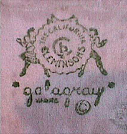 Marks of galagray cleminson pottery line this is the for Affordable pools pearl river la