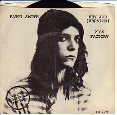 hey joe (version),  piss factory -Patti Smith | by Nesster