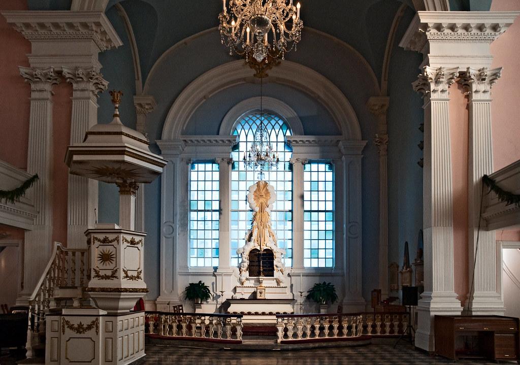 Altar St Paul S Chapel 1766 209 Broadway New York N