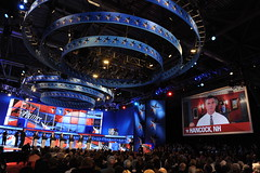 The debate hall